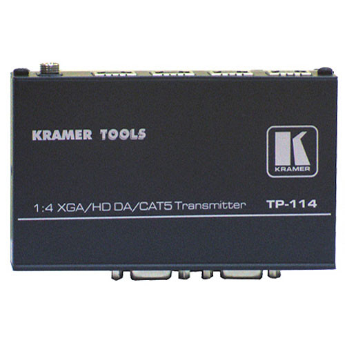 Kramer TP-114 1:4 Computer Graphics Video & HDTV over Twisted Pair Transmitter