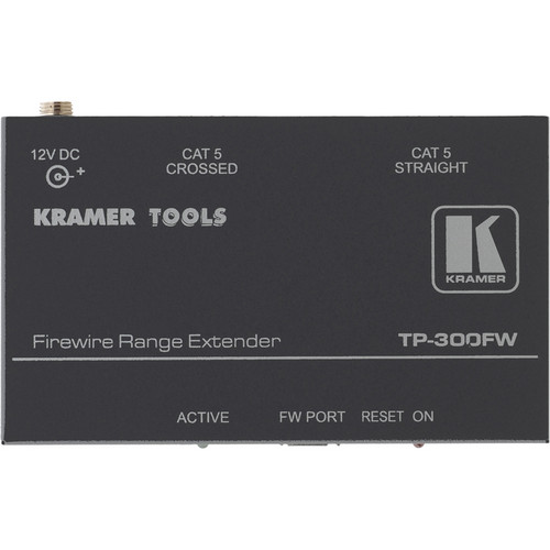 Kramer TP300W FireWire to Twisted Pair Transmitter/Receiver Range Extender