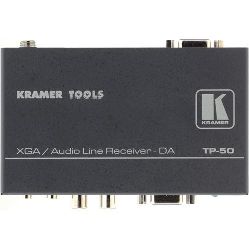 Kramer TP-50  1:2 XGA and Audio Receiver and Distribution Amplifier