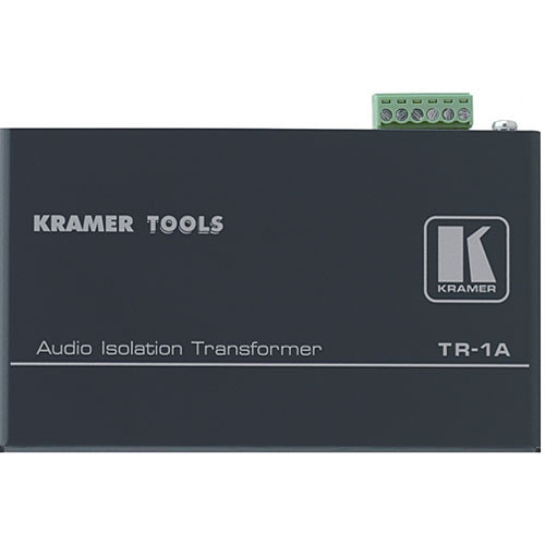 Kramer TR-1A Balanced Mono Audio Isolation Transformer