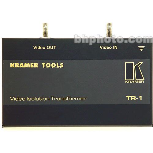 Kramer TR-1 Video Isolation Transformer, Noise Eliminator, Composite (BNC)