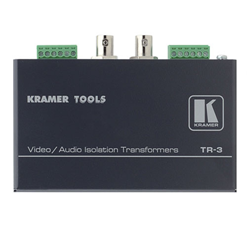 Kramer TR-3 Video & Balanced Stereo Audio Isolation Transformer