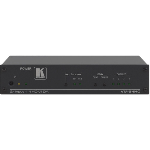 Kramer VM-24HC 2 x 1:4 HDMI Switcher & Distribution Amplifier