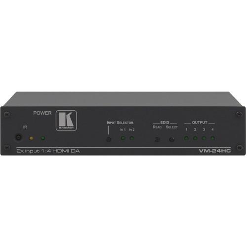 Kramer VM-24HC 2 x 1:4 HDMI Switcher & Distribution Amplifier
