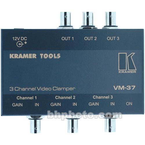 Kramer VM-37 3 Channel Video Clamper