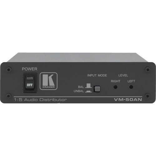 Kramer VM-50AN 1:5 Audio Distribution Amplifier