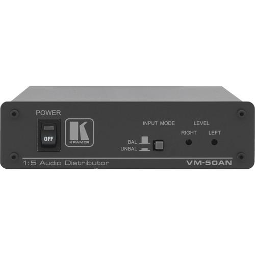 Kramer VM-50AN 1:5 Audio Distribution Amplifier