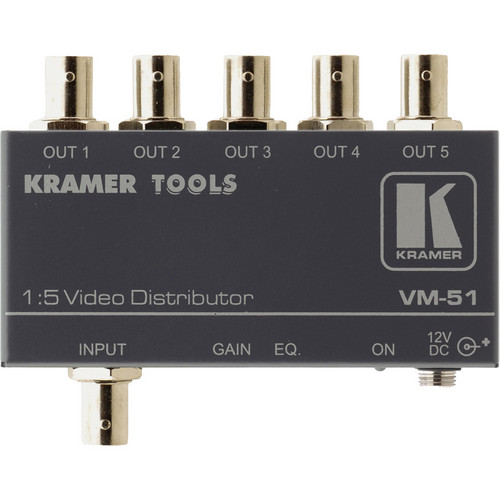 Kramer VM-51 1X5 Video Distribution Amplifier
