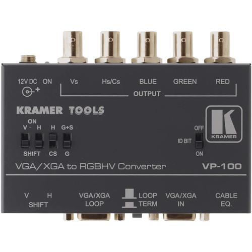 Kramer VP-100 VGA RGBHV Interface Converter