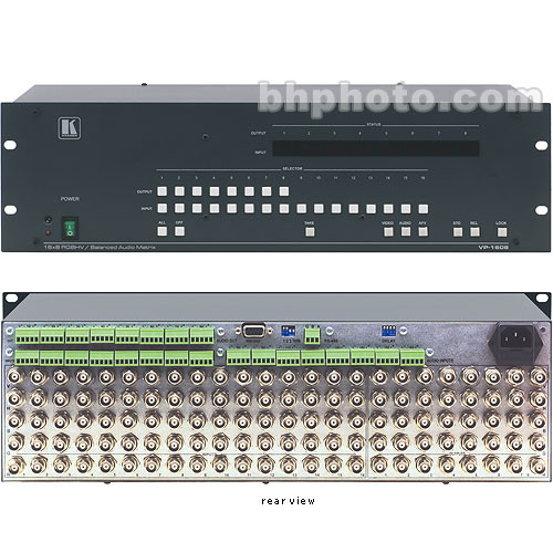Kramer VP-1608 16x8 RGBHV/Audio Matrix Switcher