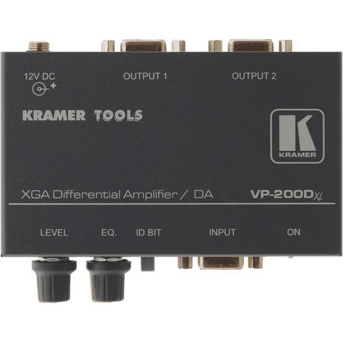 Kramer VP-200Dxl 1:2 XGA Differential Amplifier / Distribution Amplifier