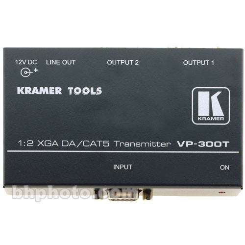 Kramer VP-300T 1:2 Graphics Video Distribution Amplifier Twisted Pair Transmitter