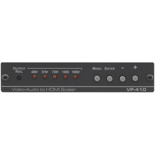 Kramer Composite Video & Stereo-Audio to HDMI Scaler