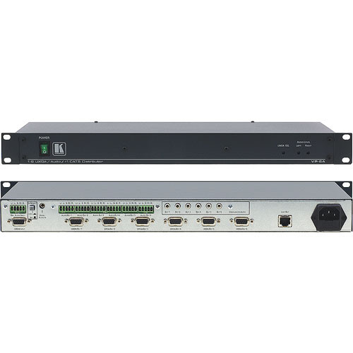 Kramer VP-6A 1:6 Computer Graphics Video Distribution Amplifier with Twisted Pair Transmitter
