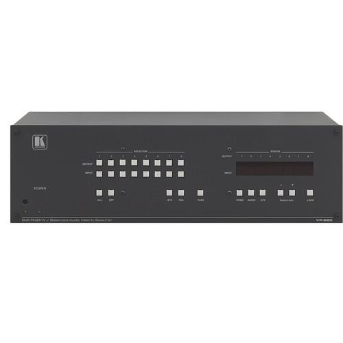 Kramer 8 x 8 RGBHV & Balanced Stereo Audio Matrix Switcher
