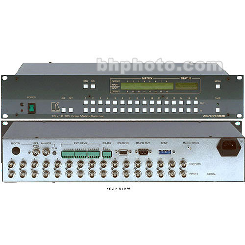 Kramer VS-1616SDI 16x16 SDI Matrix Switcher