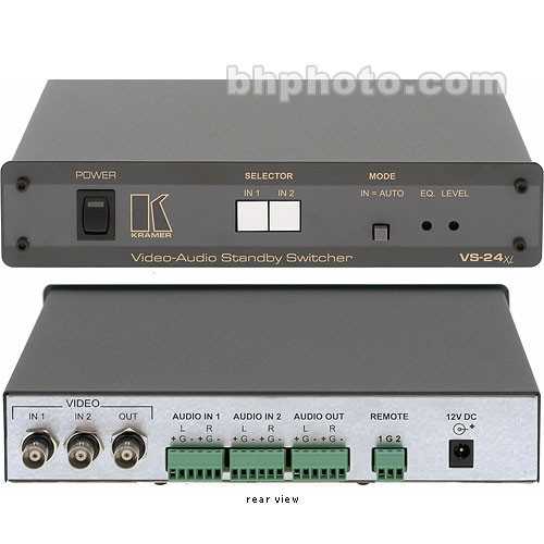 Kramer VS-24XL 2x1 A/V Standby Switcher