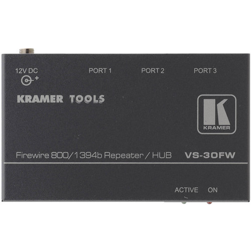 Kramer VS30FW 3-Port FireWire-800 Repeater/Hub