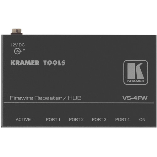 Kramer 4-Port FireWire-400 Repeater and Hub
