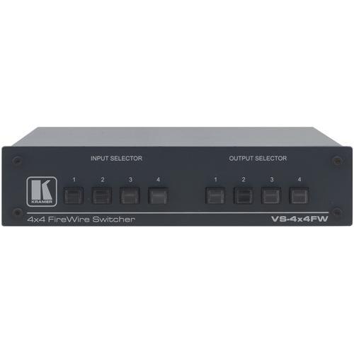 Kramer VS-4x4FW 4x4-Port FireWire Mechanical Switcher
