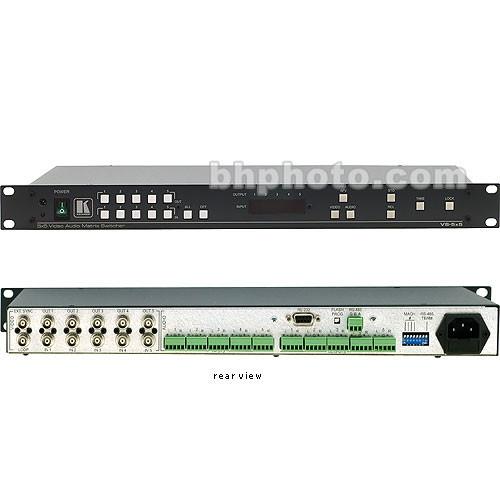 Kramer VS-5x5 5x5 Video Audio Matrix Switcher