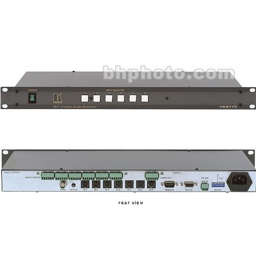 Kramer VS-61YC 6x1 Y/C & Balanced Audio Switcher