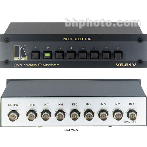 Kramer VS-81V 8x1 Composite Video Switcher