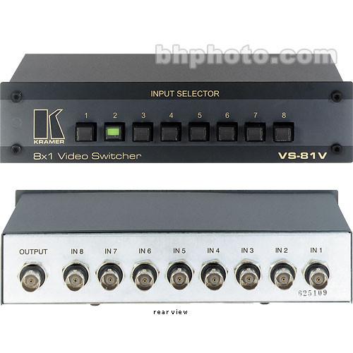 Kramer VS-81V 8x1 Composite Video Switcher