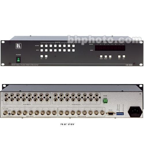 Kramer VS-828 8x8 Video/Audio Matrix Switcher