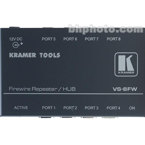Kramer VS8FW 8-Port FireWire-400 Repeater/Hub