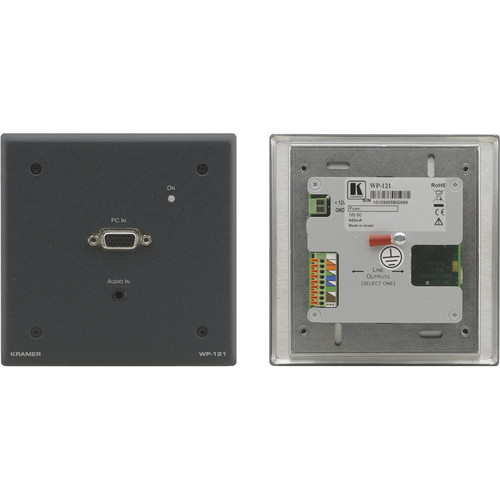 Kramer Active Wall Plate Video & Audio Over Twisted Pair Transmitter
