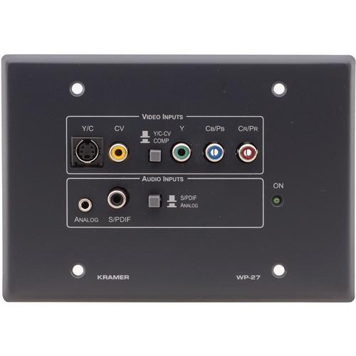 Kramer WP-27 Active Wall Plate (Gray)