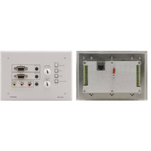 Kramer Active Wall Plate Solution for Room Control and Signal Switching