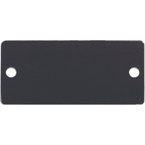 Kramer Blank Wall Plate Insert (Black)