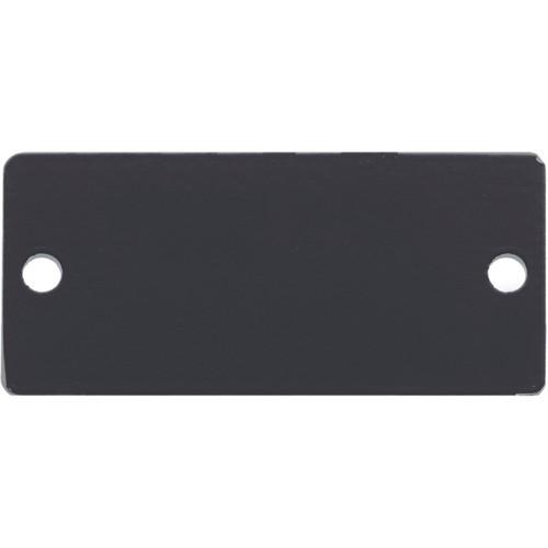 Kramer Wall Plate Insert Blank Slot Cover Plate (Black)