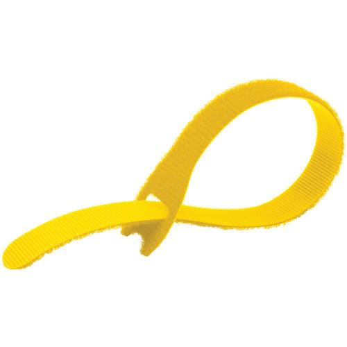 """Kupo EZ-TIE Simple Cable Ties 0.78 x 7.86"""" (2 x 20 cm) - 50 Pack, Yellow"""