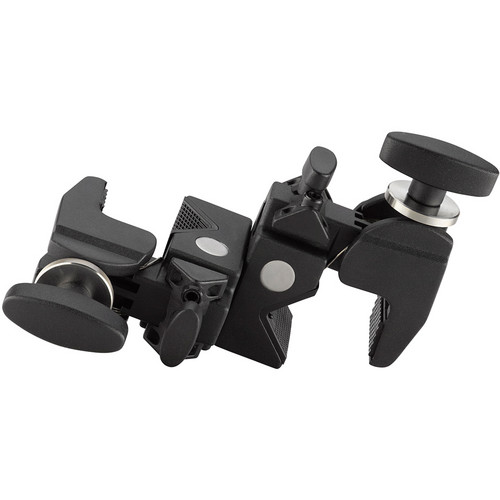 Kupo Double Convi Clamp (Black Finish)