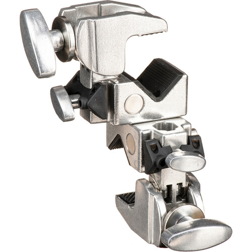 Kupo Double Convi Clamp (Silver Finish)