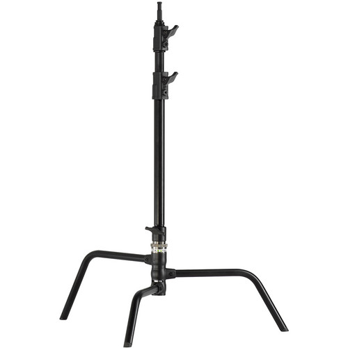 "Kupo Master 20"" C Stand with Turtle Base (Black Powder Coated)"