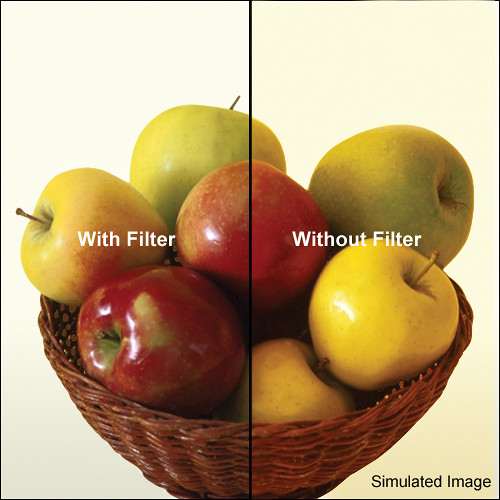 LEE Filters 100 x 100mm Polyester 80C Light Balancing Filter
