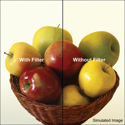 "LEE Filters 4x4"" 80D Color Conversion Polyester Filter"
