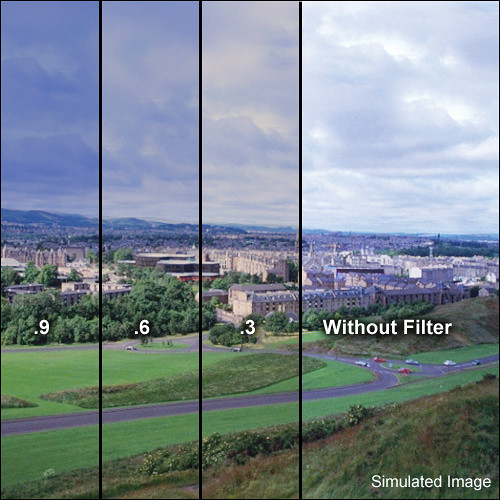 """LEE Filters 4x6"""" Combination Graduated 81EF w/ ND 0.6 Resin Filter - Soft Edge"""