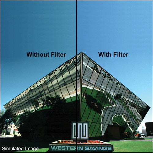 """LEE Filters 3x3"""" 82A Color Conversion Polyester Filter"""