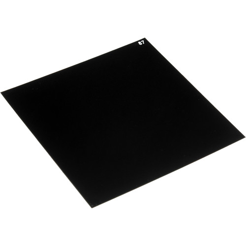 """LEE Filters 3x3"""" Infra Red #87 Infrared Polyester Filter"""