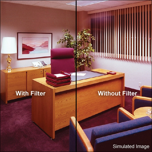 """LEE Filters 3x3"""" Cyan - CC05C - Color Compensating Polyester Filter"""