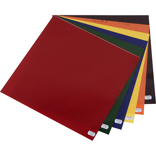 "LEE Filters Color Effects Lighting Filter Pack - 12 Sheets (10 x 12"")"