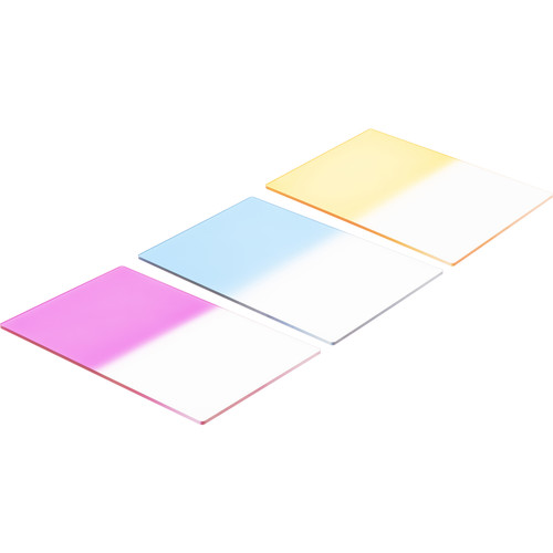 "LEE Filters 4x6"" Graduated Color Resin Filter Set - Hard Edge"