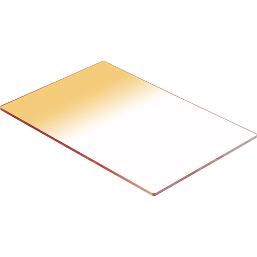 LEE Filters 100 x 150mm Soft-Edge Graduated Coral 4 Filter