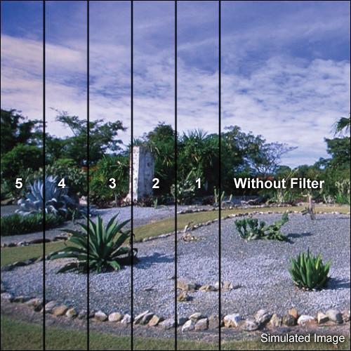 LEE Filters 100 x 150mm Blender Graduated Coral 5 Filter