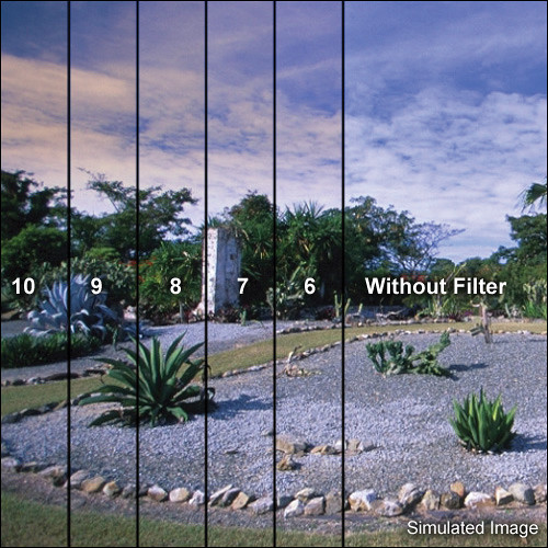 LEE Filters 100 x 150mm Hard-Edge Graduated Coral 8 Filter